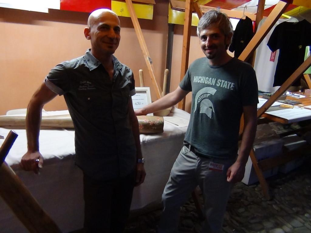 Antonio Fresolone e Daniele Pasquero