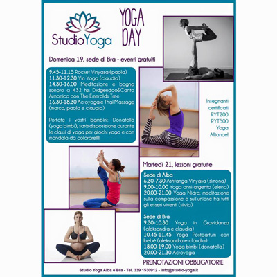 Yoga day 19.06.2016