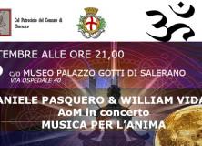 Cherasco Museo Palazzo Gotti Musica per l'anima 24 settembre