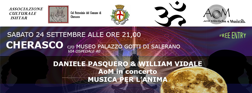 Cherasco September 24 music for the soul at the Palace Museum Gotti Salerano