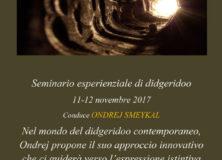 Seminario Esperienziale didgeridoo con Ondrej Smeykal