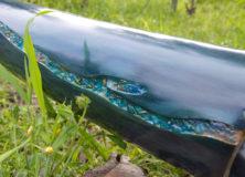 Didgeridoo Orgone CRYSTAL SEA in legno di tiglio